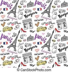 París es un dibujo sin costura