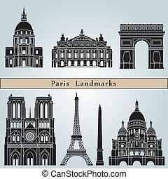 parís, señales, monumentos