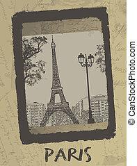 París. Una postal antigua