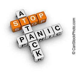 Para el ataque de pánico