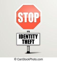 parada, robo de identidad