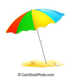 Parasol de playa, 10eps