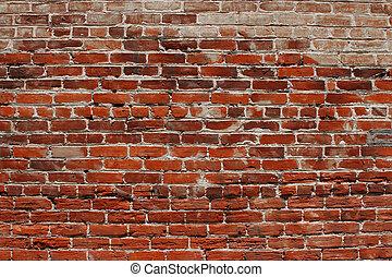 pared, ladrillo, plano de fondo