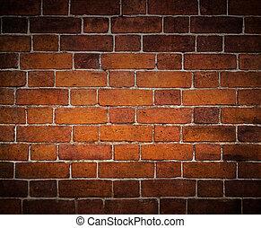pared, ladrillo, viejo, plano de fondo