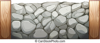 pared, piedra