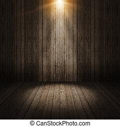 pared, rayo ligero