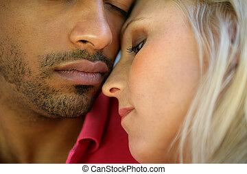 pareja, íntimo