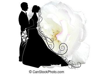 Pareja de bodas