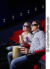 Pareja en el cine