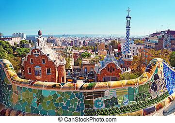 Park Gull en Barcelona, España