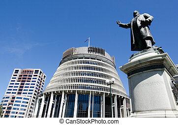 parlamento, nueva zelandia