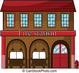 parque de bomberos