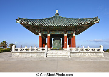 Parque de campanas de la amistad coreana San Pedro California.