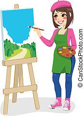 Parque de pintura artístico