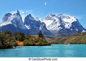 Parque Nacional torres del dolor, chile