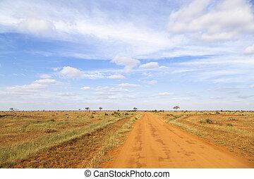 Parque Nacional Tsavo, Kenya