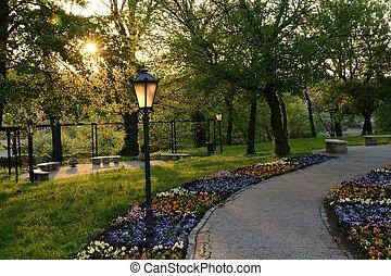 Parques verdes en Polonia
