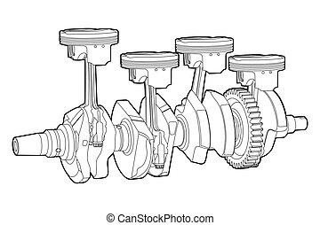 Parte del motor
