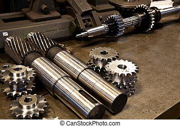 Partes mecánicas