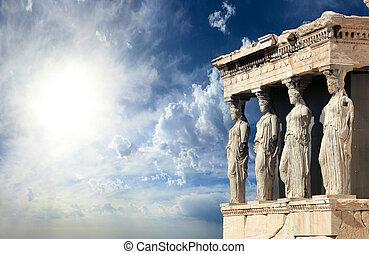 Parthenon en Acrópolis