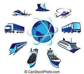 pasajero, transportations, carga