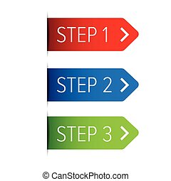 pasos, tres, cinta, dos, uno