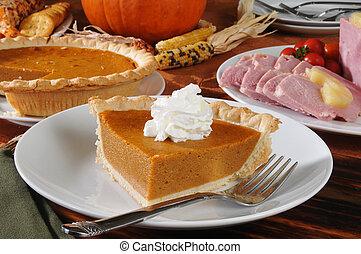 Pastel de Acción de Gracias