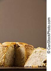 Pastel de cerdo de Melton Mowbray de bajo perfil