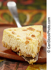 Pastel de queso fresco