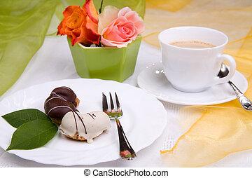 pastel, dulce