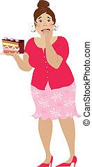 pastel, uno, más