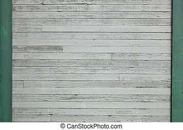Pastel verde muro de madera