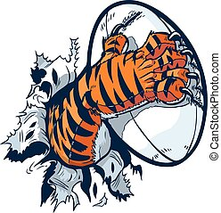 pata, rugby, tigre, pelota, apasionante