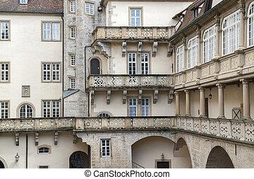 patio interior histórico