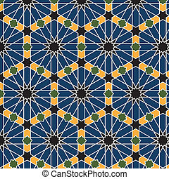 Patrón árabe sin marcas
