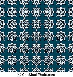 Patrón 3D sin costura al estilo árabe