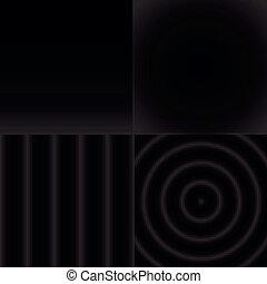 Patrón abstracto blanco y negro