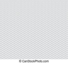Patrón abstracto de panal blanco