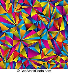 Patrón colorido de superficie.