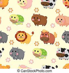 Patrón de animal sin costura