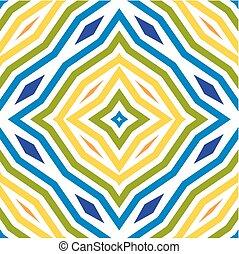 Patrón de arte de línea de colores. Antecedentes sin daños