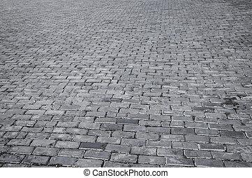 Patrón de azulejos de la calle Retro