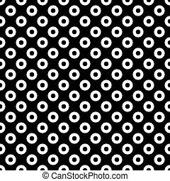 Patrón de círculos sin forma