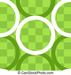 Patrón de círculos sobre tablero de control