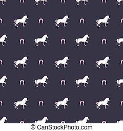 Patrón de caballo