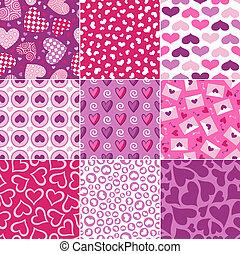 Patrón de corazón inservible para Valentino