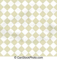 Patrón de cosecha sin costura de las células de diagonal