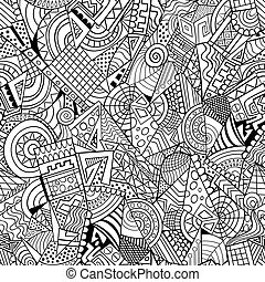 Patrón de decoración abstracta geométrica