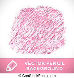 Patrón de dibujo de lápiz rosa.