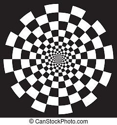 Patrón de diseño en espiral
